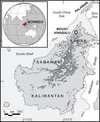 Central And Northern Asia Map by Neogene Rock Uplift And Erosion In Northern Borneo Evidence From