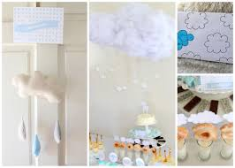 sprinkled with cloud baby shower