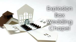 tutorial template explosion box wedding chapel theme youtube