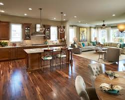 kitchen and living room ideas open concept kitchen living room houzz