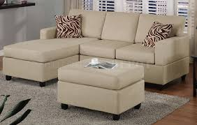 white microfiber sectional sofa furniture small leather sectional couches with cushions on wooden