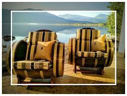 wine barrel chair striped cushion u2013 marksmenship