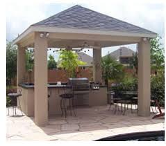 Outdoor Kitchen Covered Patio Outdoor Kitchen With Covered Patio Lone Star Patio Builders
