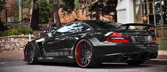mercedes sl amg black series mercedes sl65 amg black series in the photo simulation