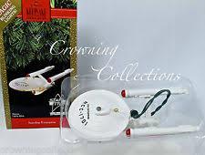 hallmark 1991 trek enterprise blinking lights ornament ebay