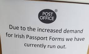 where can i get an irish passport application form in northern