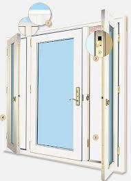 Patio Doors With Side Windows Single Patio Door Casper Single Door Retractable Screen In White