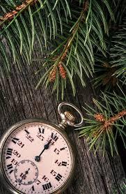 pocket new year happy new year vintage pocket clock striking midnight