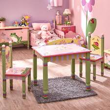 3 piece table and chair set fantasy fields magic garden kids 3 piece table chair set reviews