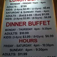 Super Buffet Hours by China Buffet Greensboro Piedmont Triad Urbanspoon Zomato