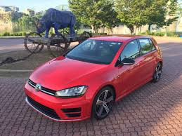 red volkswagen golf test drive volkswagen golf r full review times free press