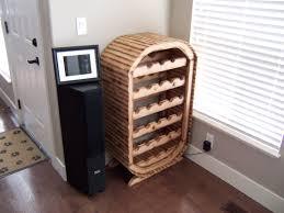 wine racks reclaimed wood work