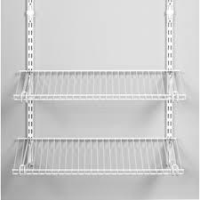 Ideas Rubbermaid Fasttrack Lowes Elfa Rubbermaid Wire Shelving Shelves Ideas
