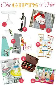 chic gifts for the entertainer gift