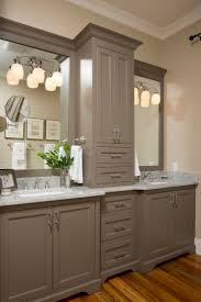double sink vanity with middle tower 21 best dream home images on pinterest bathroom my house and
