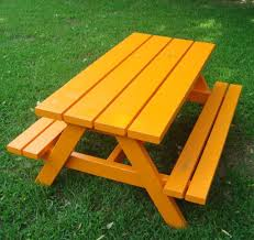Picnic Table Plans Free Garden Table Plans Home Outdoor Decoration