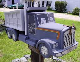 themed mailbox dump truck mailbox bristol nh themed mailboxes on