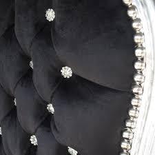 Esszimmerst Le Antik Extravagante Barock Stühle Stuhl Sessel Schwarz Silber Antik