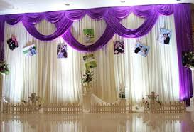 marriage decoration 3mx6m backdrop wedding stage curtain background marriage stage