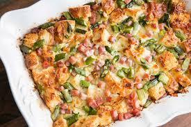 ham and asparagus strata recipe simplyrecipes com