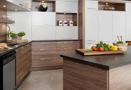 armoire de cuisine thermoplastique ou polyester bois placage mélamine stratifié cuisine kadrium design