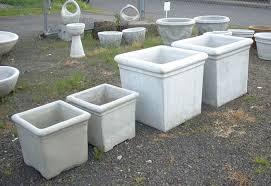 Square Planter Pots by Download Large Concrete Flower Pots Solidaria Garden