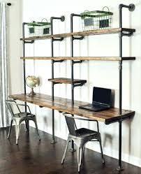office desk with bookshelf desk with side shelves white desk with side shelves and drawer