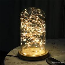 copper globe string lights 2m 5m battery powered led copper wire fairy string light strips