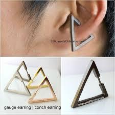 earring ear conch earring triangle earring ear cartilage