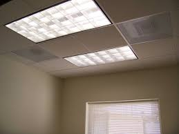 Fluorescent Kitchen Lights Ceiling Kitchen Lighting Fluorescent Light Fixture Rectangular Glass