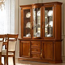 cherry wood china cabinet treviso ornate cherry wood 2 door 3 drawer sideboard display