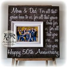 50th anniversary gift ideas for parents 50th anniversary gifts parents anniversary gift for all that you