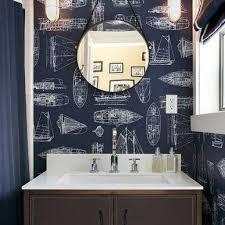 navy blue bathroom ideas nautical bathroom designs blue nautical bathroom matchboard walls