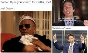 houston preacher joel osteen lambasted in twitter memes daily