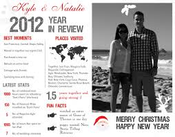 year in review christmas card diy year in review infographic card giveaway