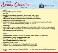 car detailing at home your spring clean checklist 100 things 2 do