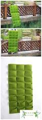 garden wall plants 24 pocket new felt wall grow bag green garden bag hanging wall