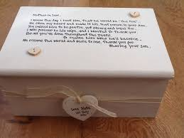 personalised jewelry box personalised chic jewellery box of the groom gift in