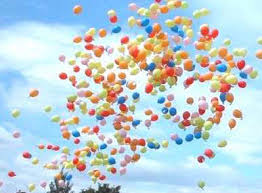 balloons that float what goes up comes and it s not