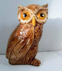 home interior collectibles owl figurines collectibles vintage owl figurine glossy with