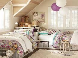 little girls bedroom set two beds one room arrangements twin