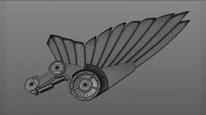 3d model wing cgtrader