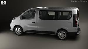 renault van 360 view of renault trafic passenger van 2014 3d model hum3d store