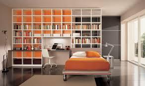 elegant bedroom bookshelf on home decoration for interior design