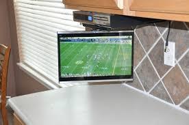 under kitchen cabinet tv kitchen flat screen tv kitchen led tv