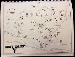 Frost Line Map Al U0027s Frost Valley Alumni Blog 1996 Map Of Frost Valley