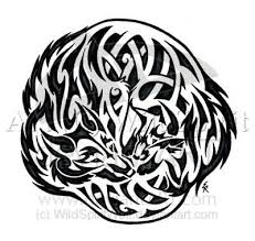 wolf and fox celtic