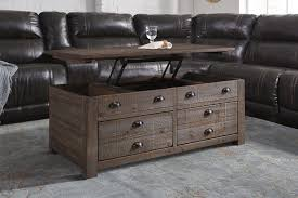 coffee table leather top furniture nice remarkable stunning brown rustic trunk coffee