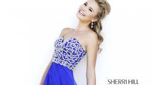 sherri hill 8555 prom dress sweetheart neckline a line silhouette