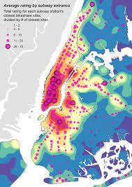 Map Of Manhattan New York City by Bikes Spatiality